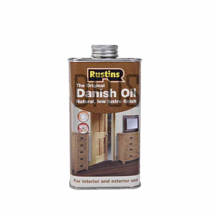 Rustins Original Danish Oil 1Ltr Indoor or Outdoor use ...
