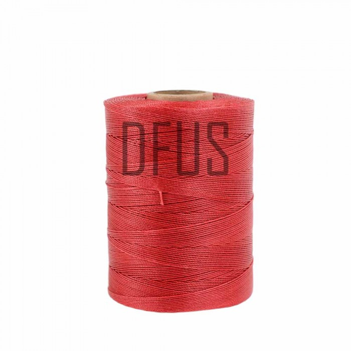 RED 500mtr roll super strong waxed slipping thread cord UPHOLSTERY SUPPLIES
